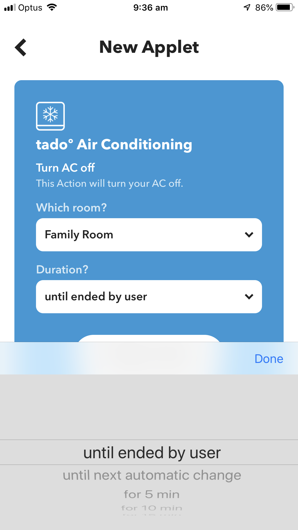 tado options