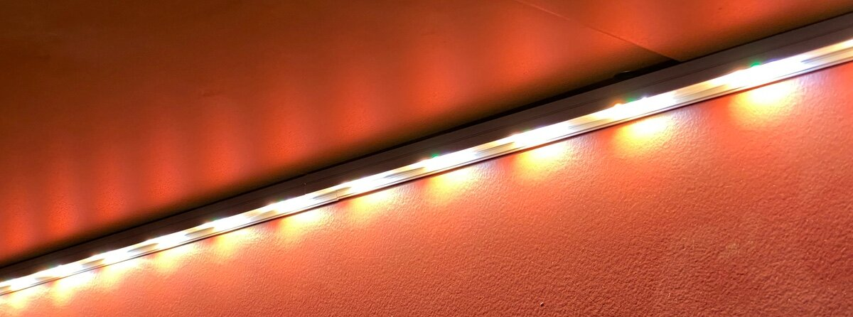 LED Channel placed too close to the wall