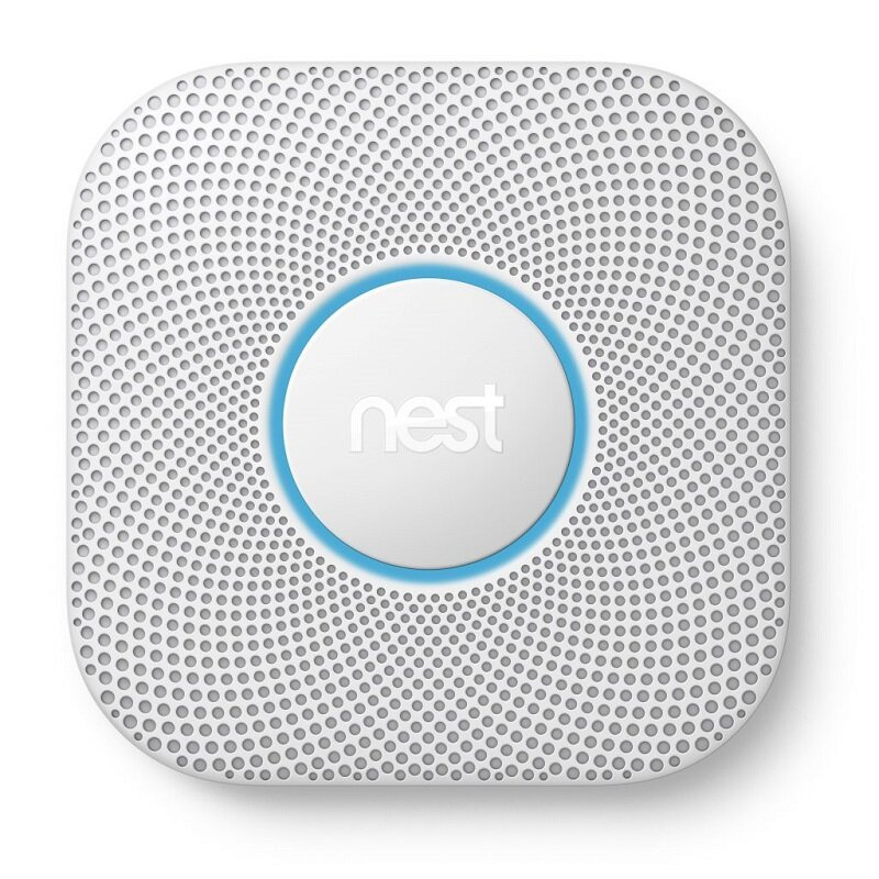 Nest Protect - ✔  WiFi, no hub required✔  Split-spectrum sensor✔  CO sensor✔  1 year battery life✔  Interconnect (via WiFi)✘  Limited integration support