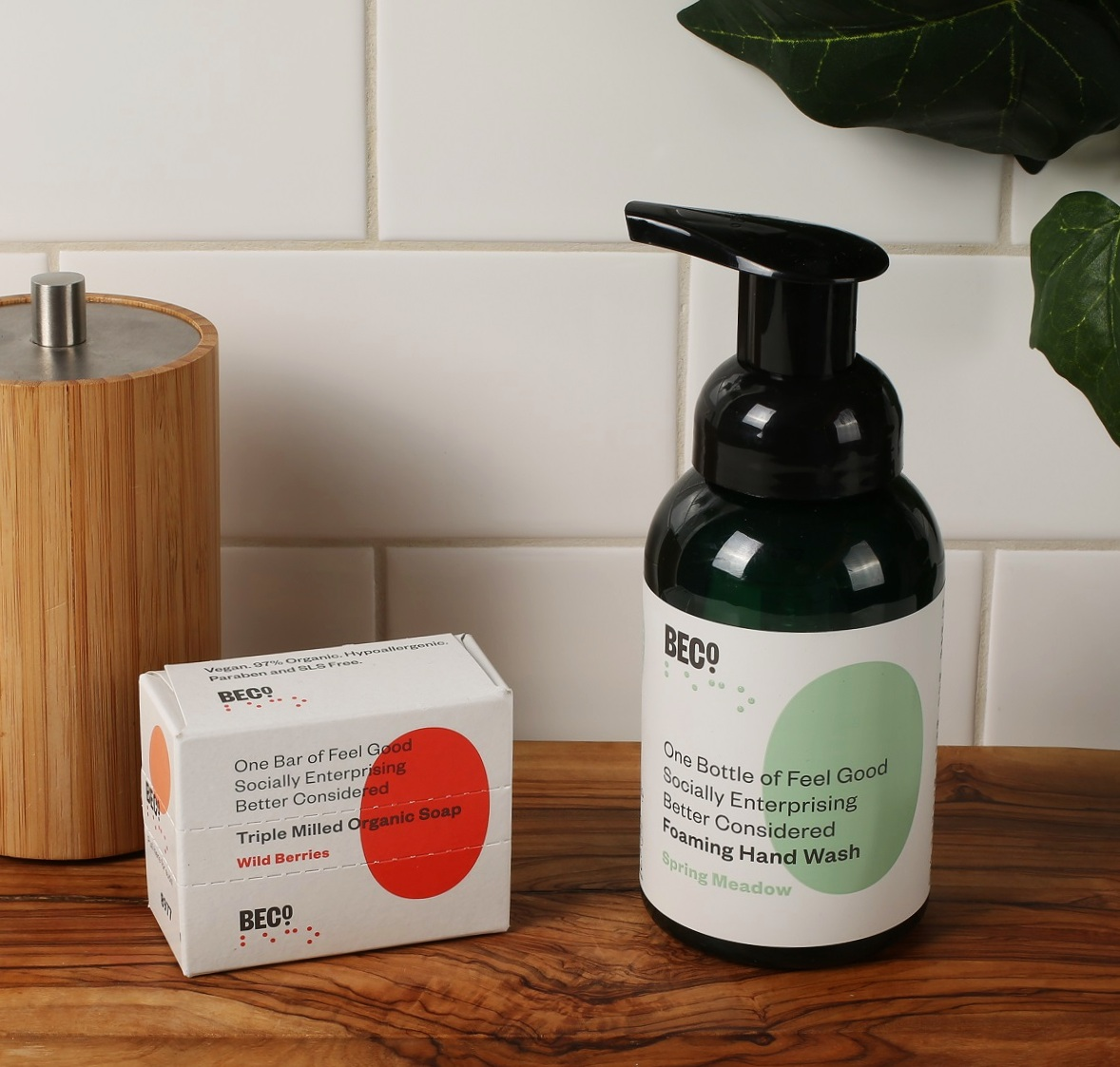 BECO Better Considered Handwash and Bar Soap