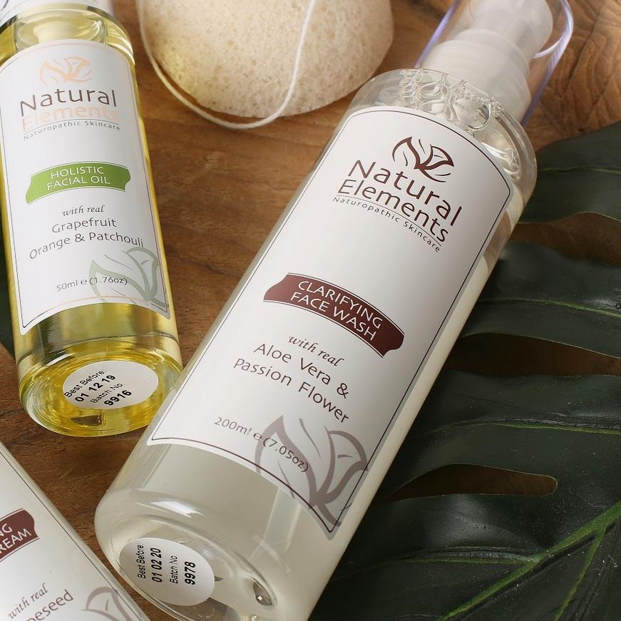 Natural Elements Clarifying Facial Wash