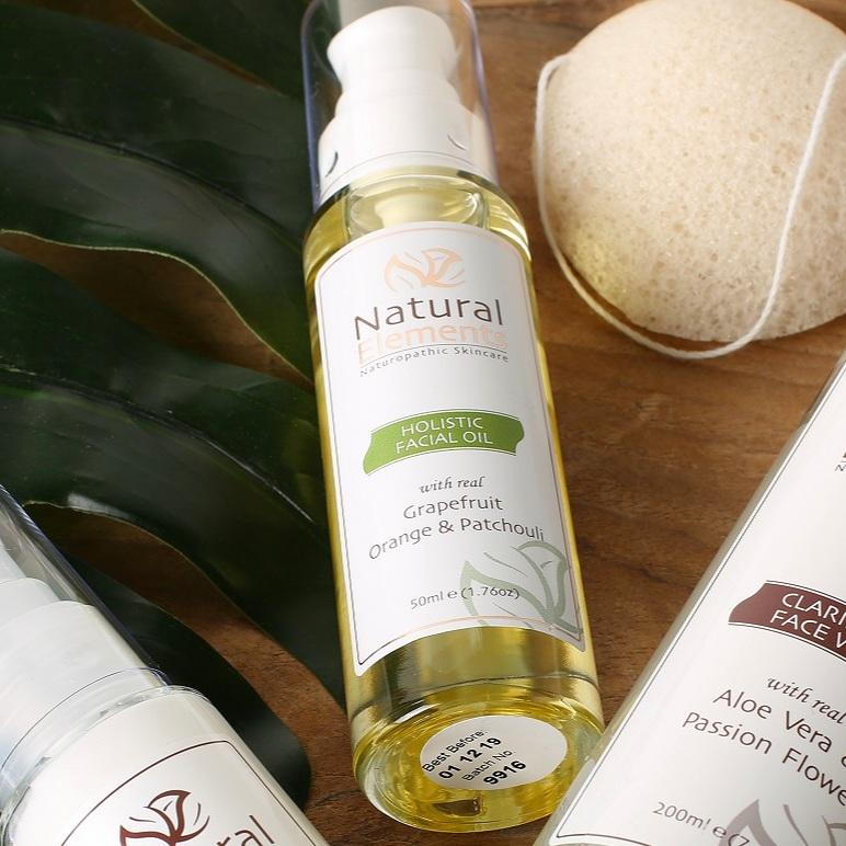Natural Elements Holistic Facial Oil