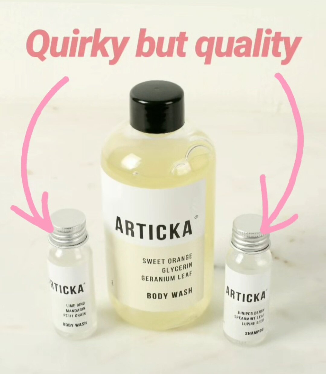 Articka Quirky but quality