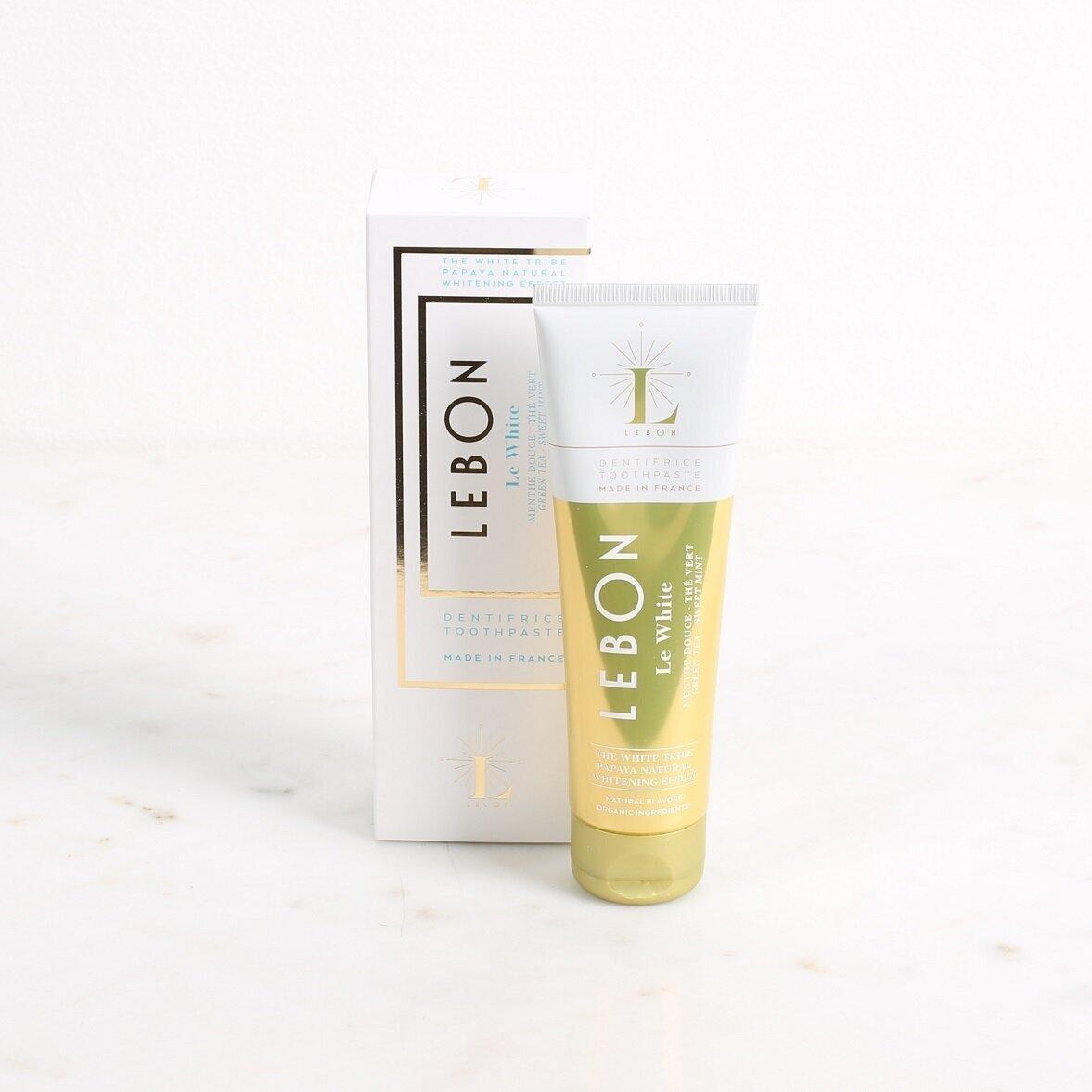 LEBON Green Tea and Sweet Mint Toothpaste