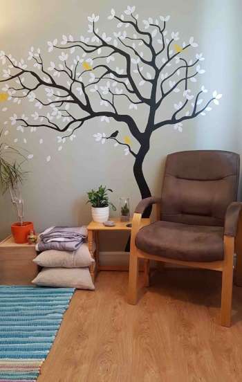 Durham counselling room for therapy for bereavement or trauma