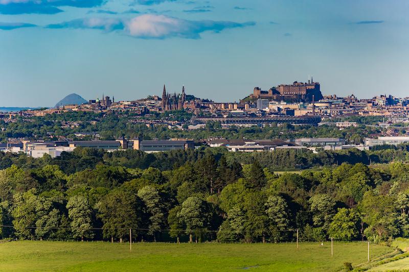 The Edinburgh Photography Tour. Edinburgh City Skyline from Platt Hill in Ratho, Edinburgh, Scotland copy.jpg