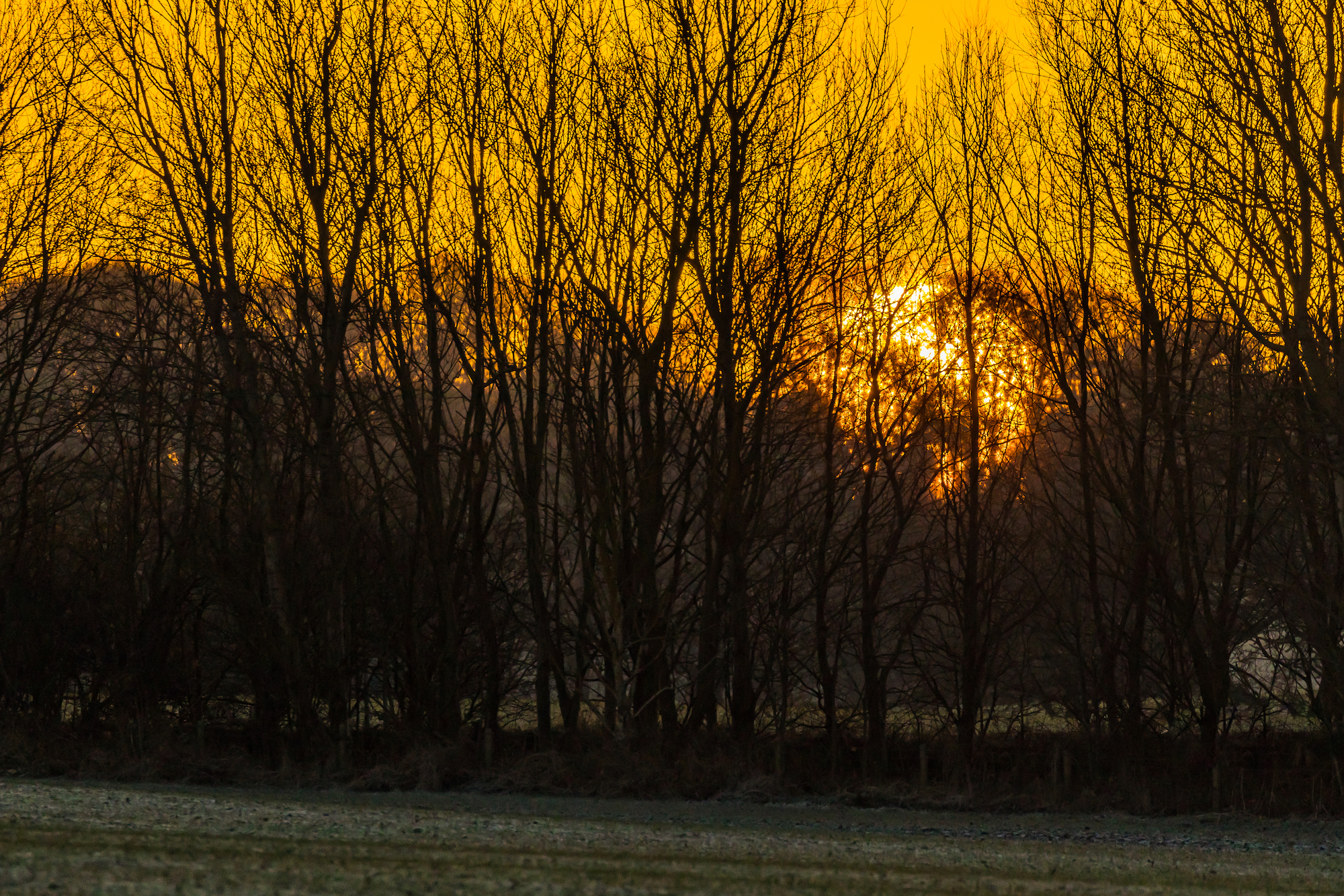 (912) Glitterball Sunset, Ratho, Edinburgh, Scotland.jpg