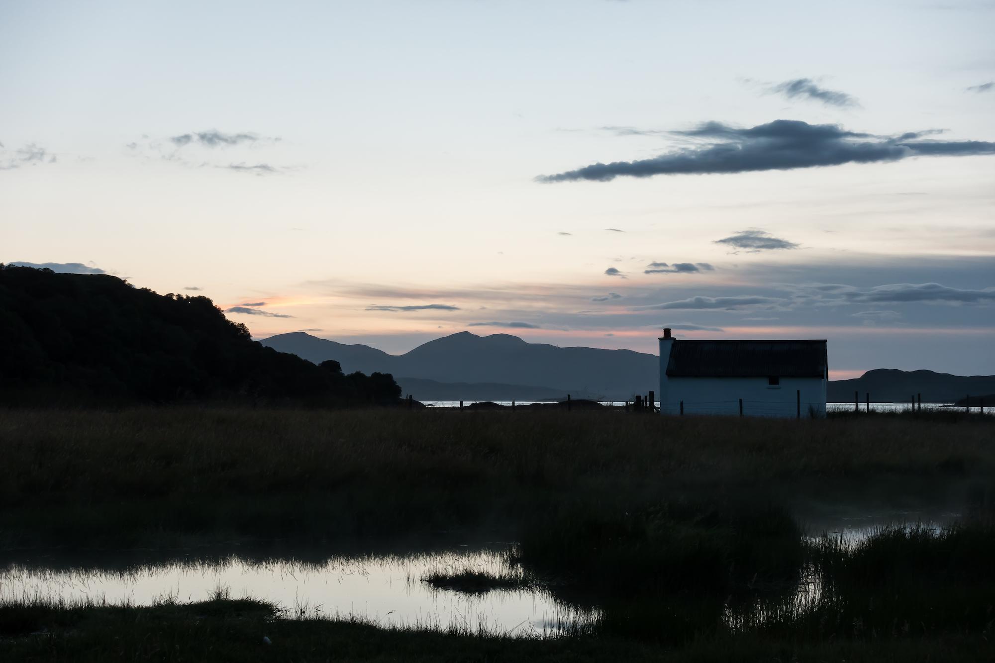 (704) Fishing Station at Loch Feochan, Oban, Argyll and Bute, Scotland. Copyright David Wheater.jpg