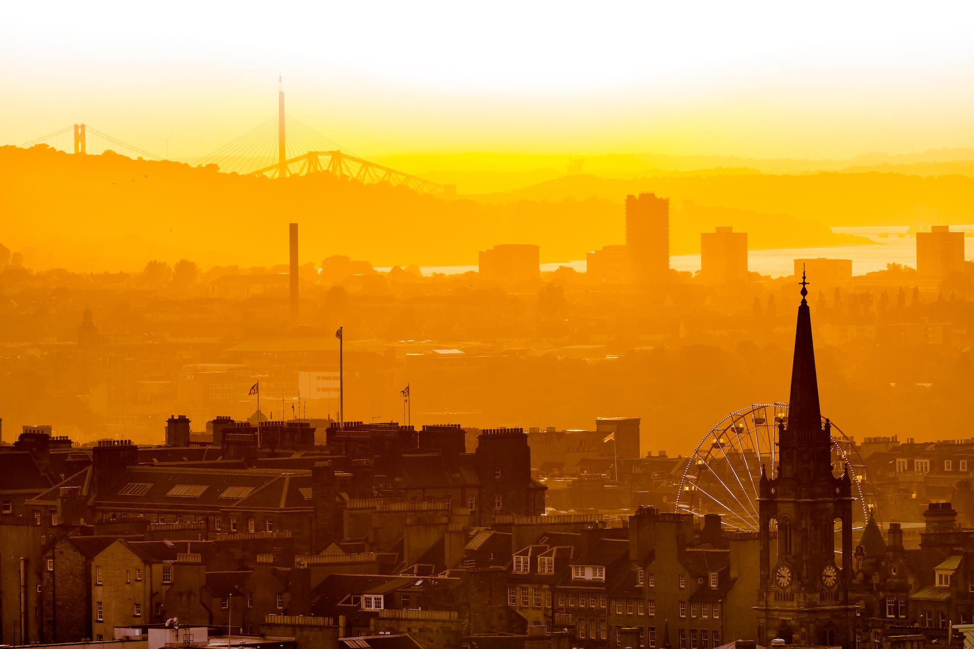 (564) Golden Hour Sunset over the City of Edinburgh, Scotland.jpg