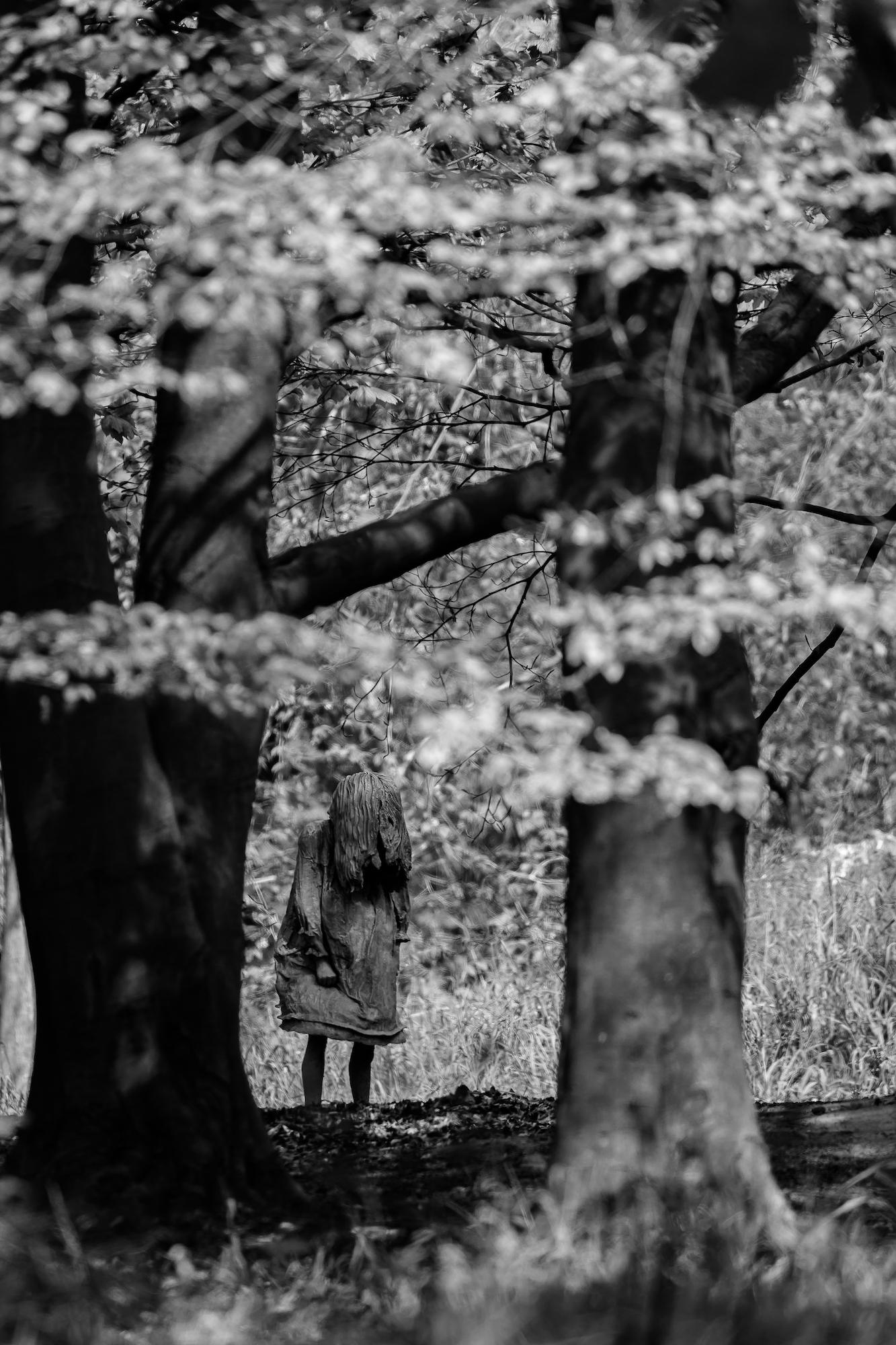 (571) Weeping Girls by Laura Ford, Modern Sculpture, Jupiter Artland, Wilkieston House, Edinburgh, Scotland.jpg