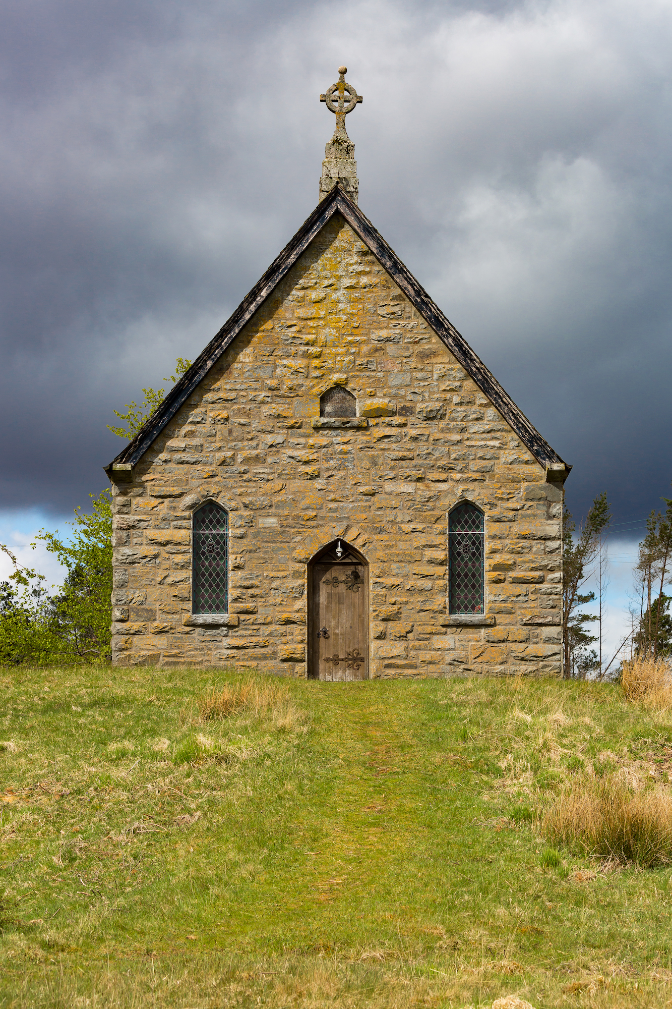 (375) The Parish Church of Altnaharra and Farr, Free Church 1855, Altnaharra, Sutherland, Highlands, Scotland.jpg