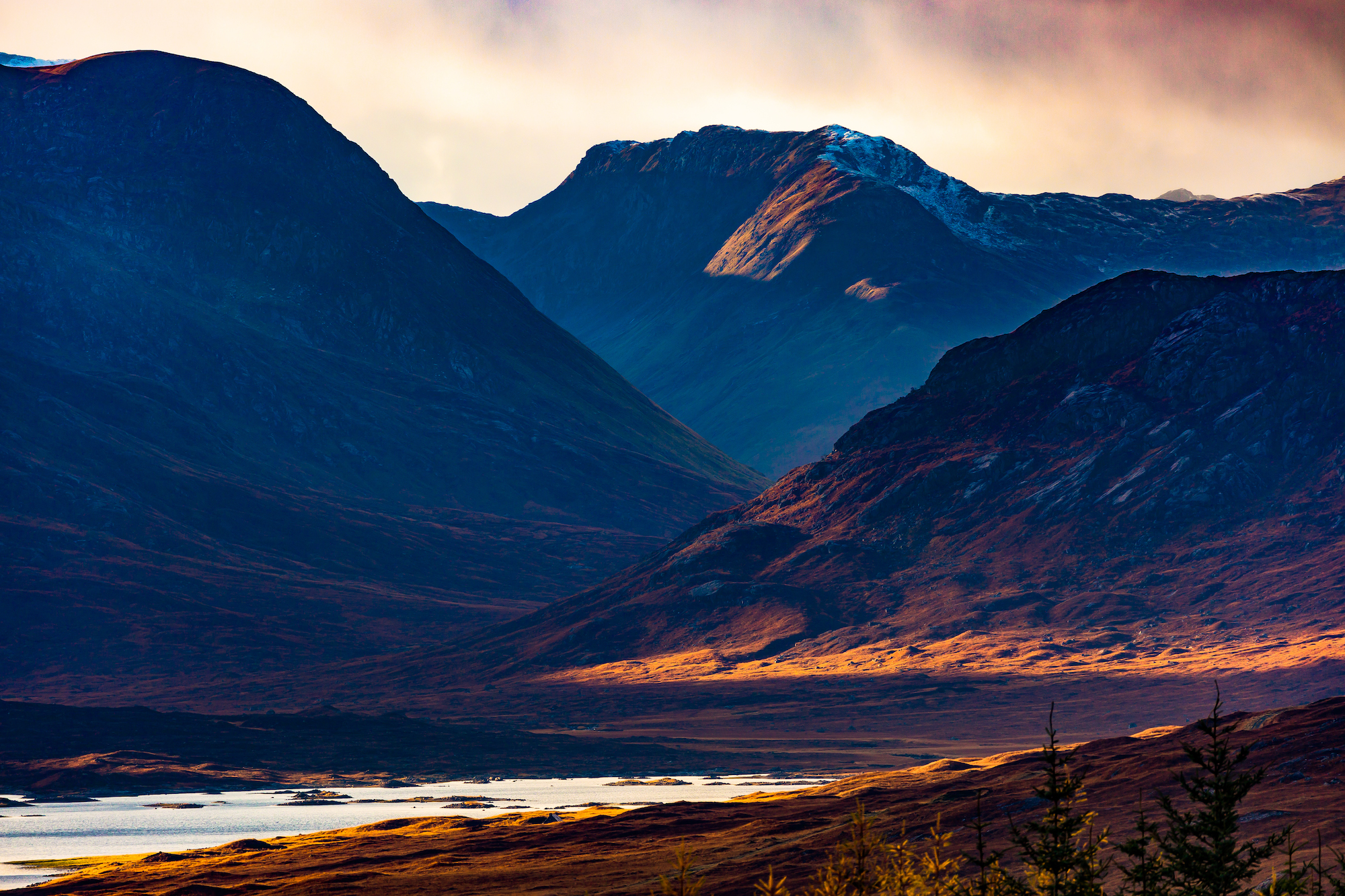 (297) Loch Loyne to Creag A' Mhaim, Glen Loyne, Invergarry, Scotland. Copyright David Wheater.jpg