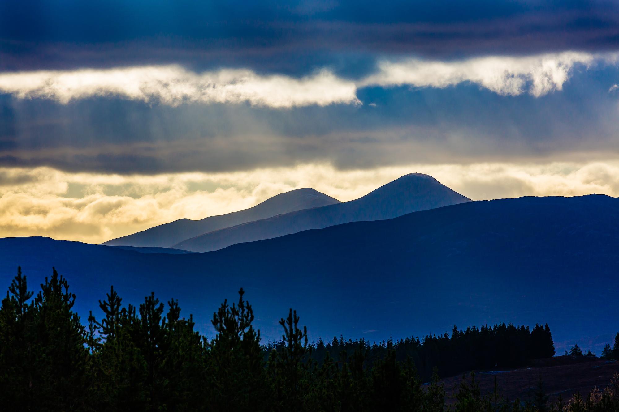 (303) Loch Loyne to Mountains in Glen Kingie, Scotland. Copyright David Wheater.jpg