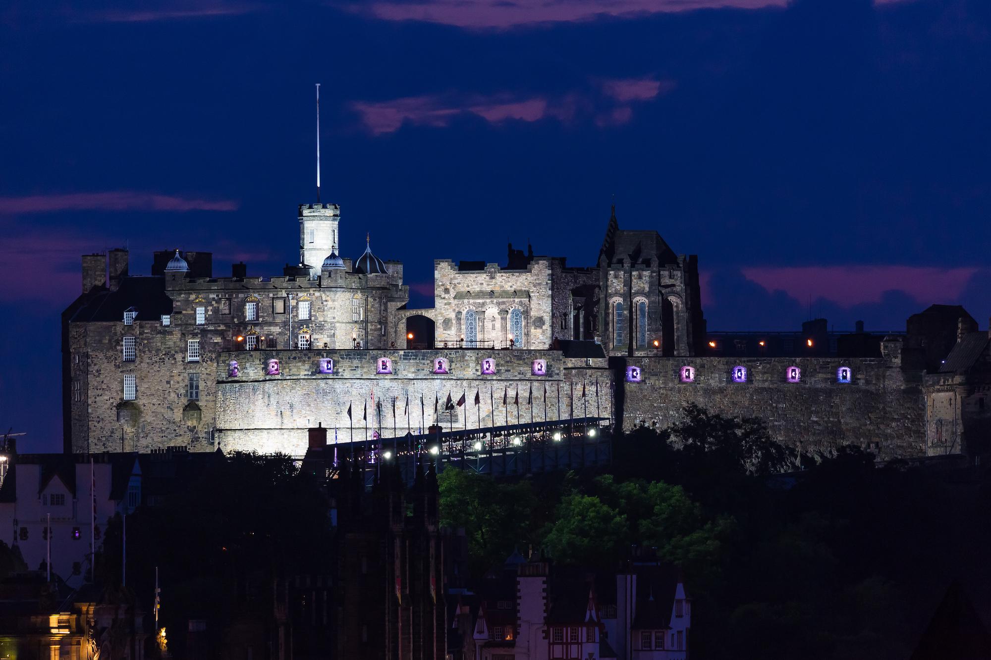 (244) Edinburgh Castle at Dusk, Scotland.jpg