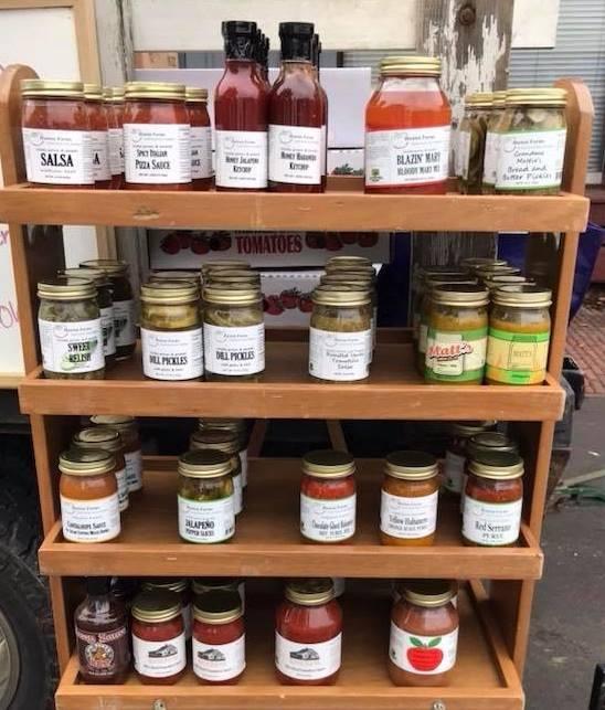 huston farms value added products zanesville farmers market