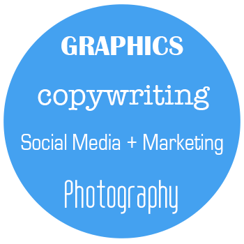 Over 10 years experience of implementation in our own businesses, our skills and experience cover all your branding, copywriting, graphics, marketing, photography and social media needs. We're always expanding our knowledge & skill set to stay up to date on the current trends, apps & technology that will improve your business & ours.