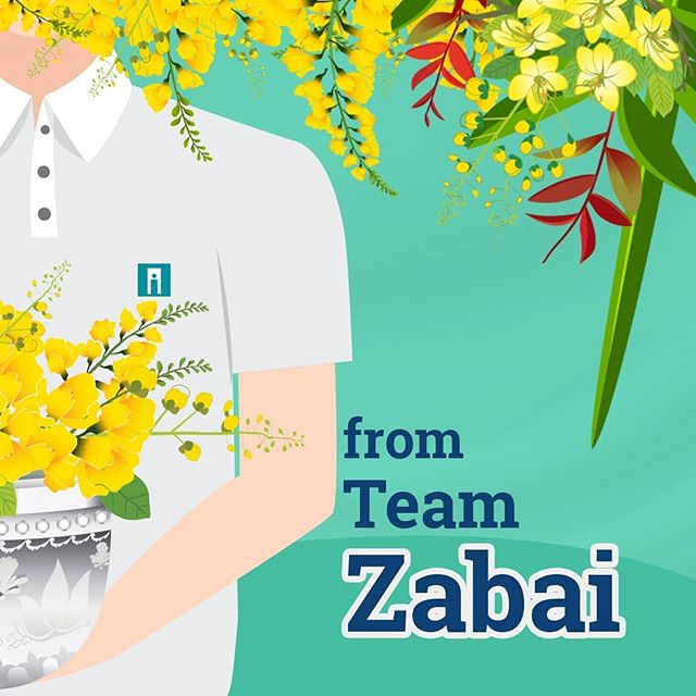 On this occasion of Thingyan Water Festival and Myanmar New Year...our Team Zabai and our Last Year Course Proudcts wish you all a joyous, healthy and prosperous new year!  _Team Zabai  #elearningcourse #lifeskills #tourismandhospitality #entrepreneurship #lms