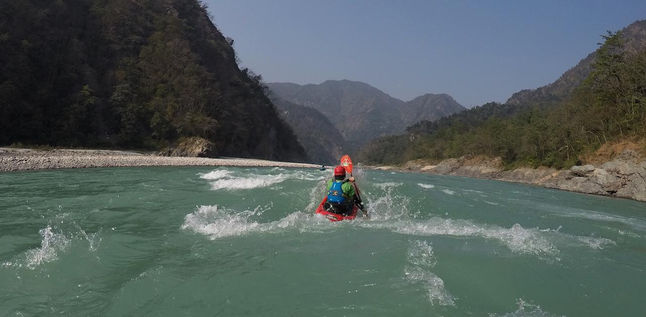 Kayak Ganges River