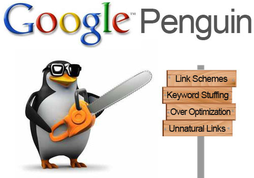 Google Penguin (Woodworks Communications)