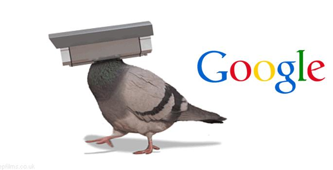 Google Pigeon (Woodworks Communications)