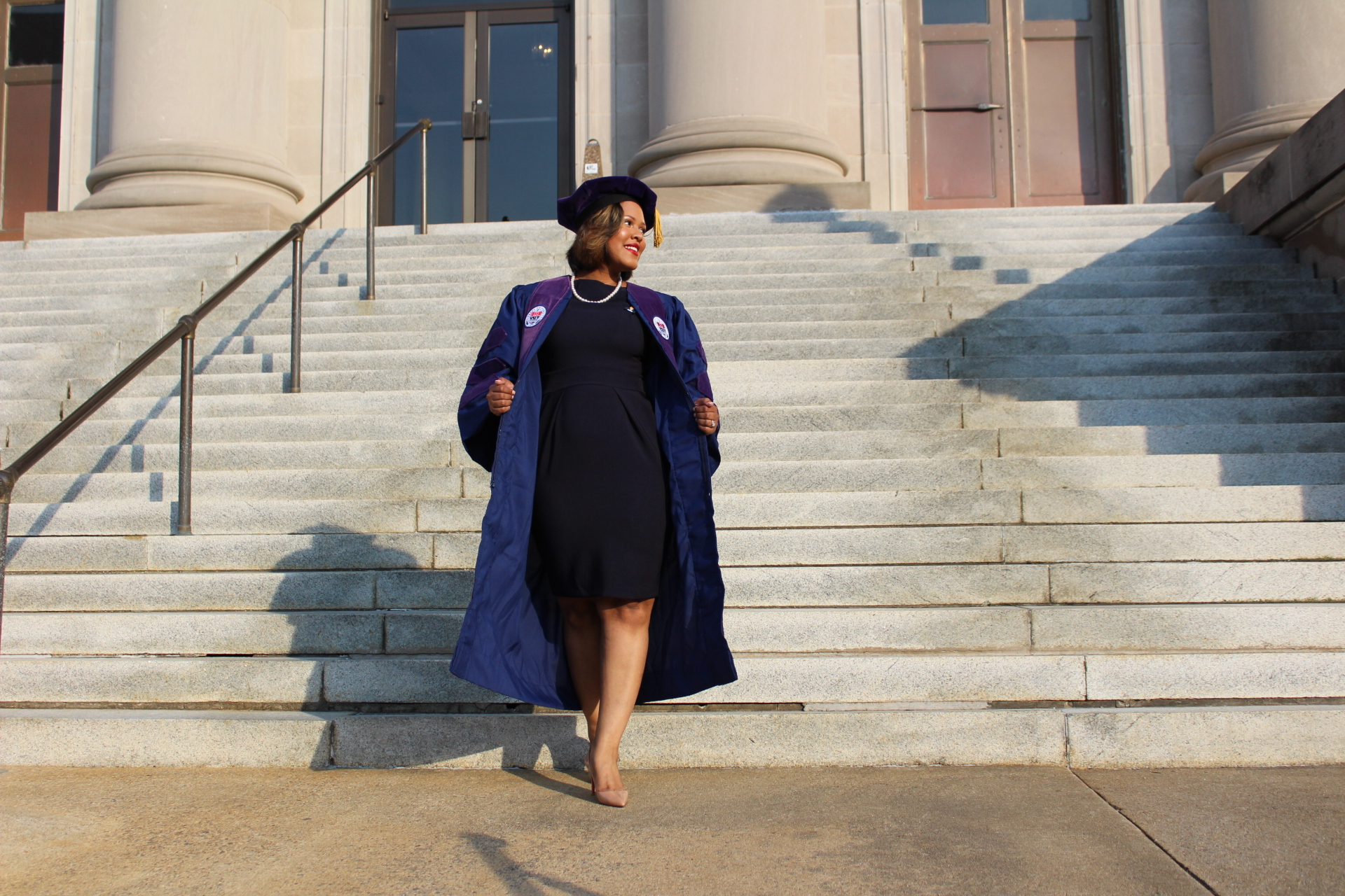Black Girl Law School Graduation - LegallyMed