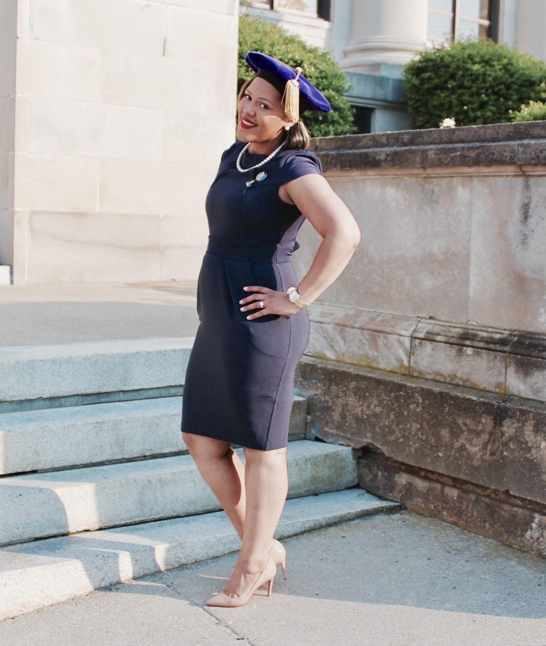 Black Fashion Blogger - Nude Christian Louboutin - LegallyMed