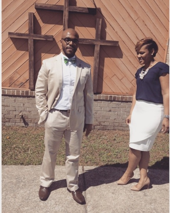 Black Couple Church Fashion - LegallyMed
