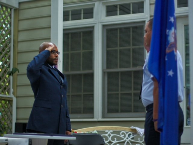 Air Force Commissioning Ceremony