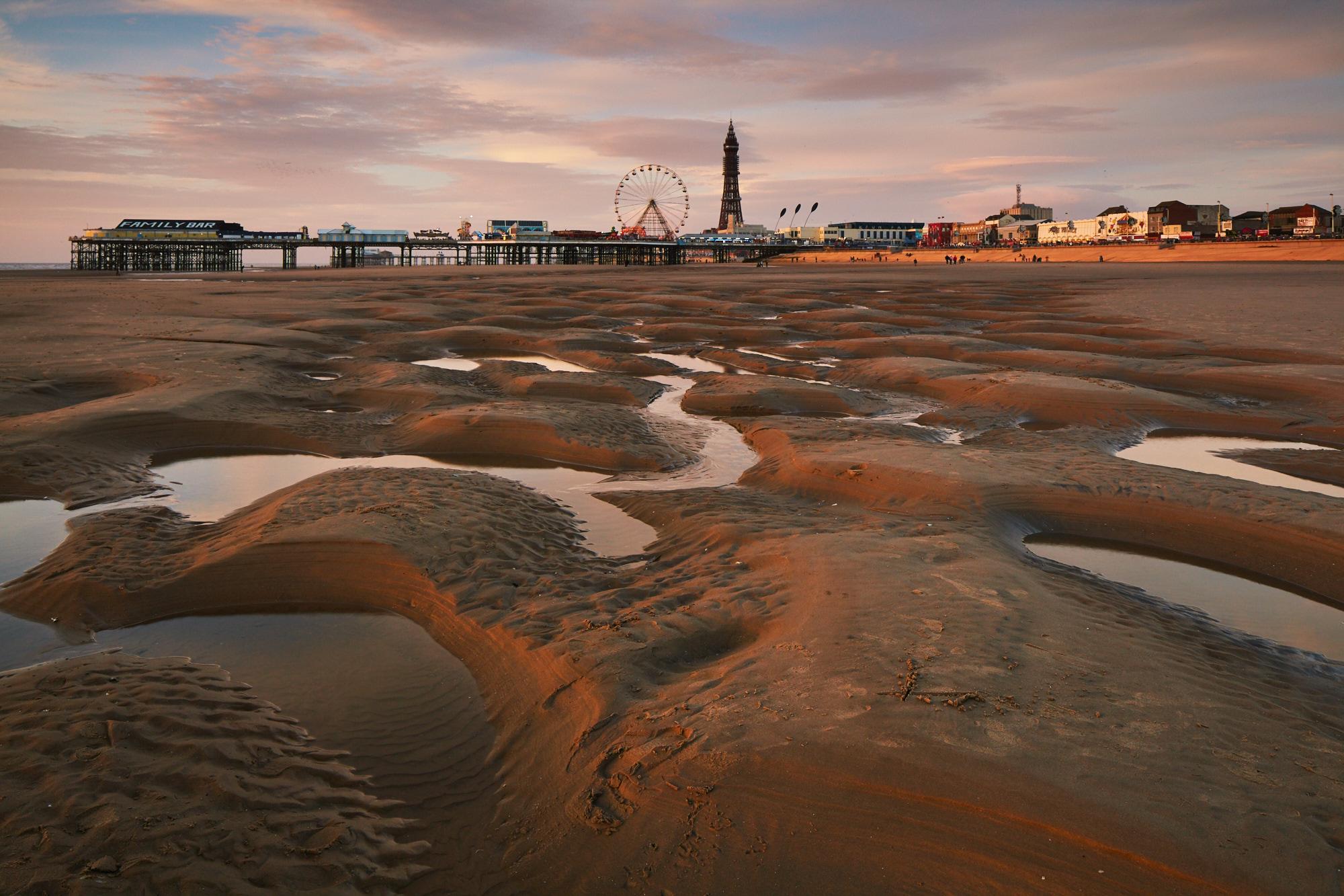 Playground, Blackpool, Lancashire, England