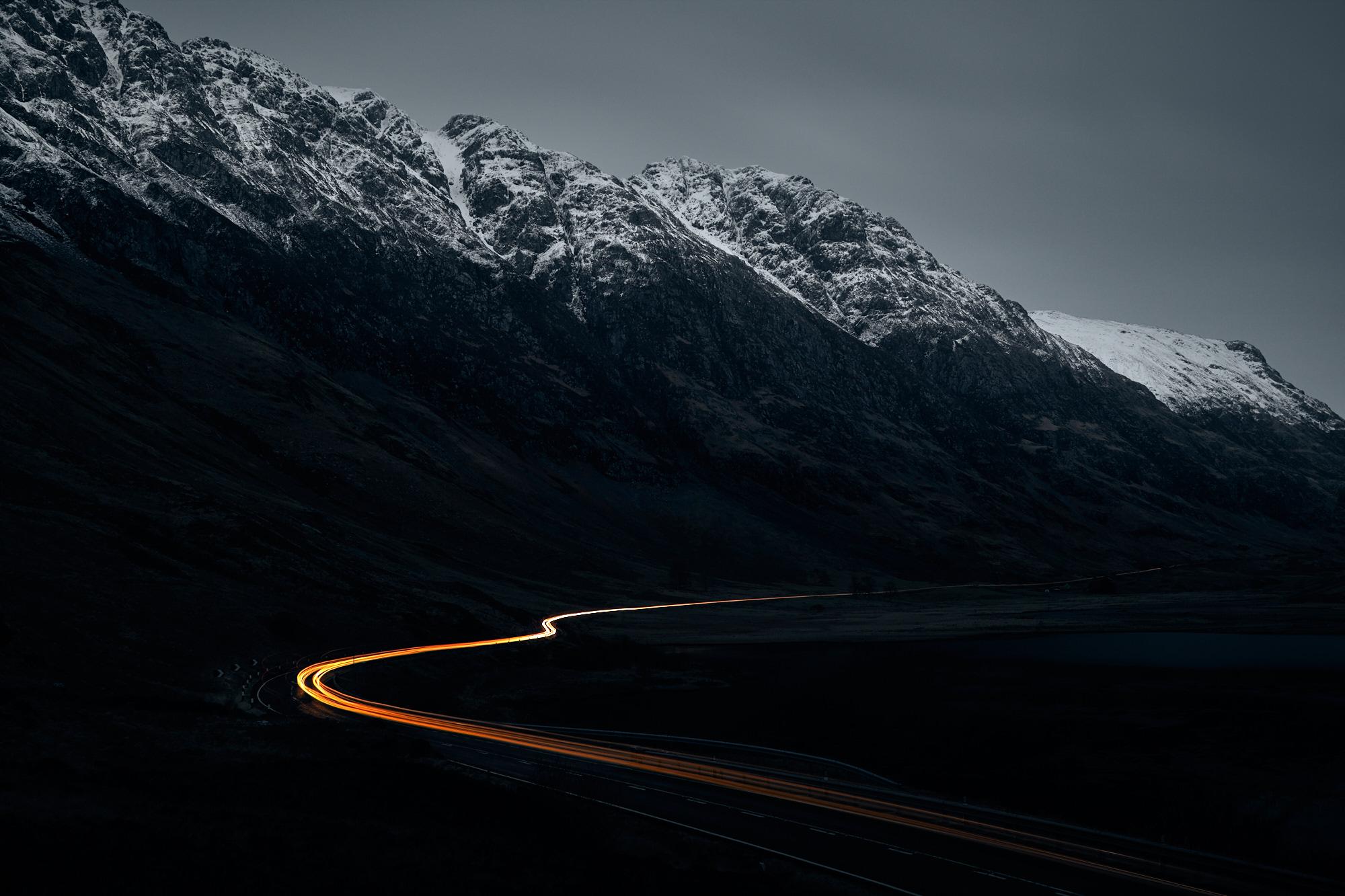 A 82, Glencoe, Scotland