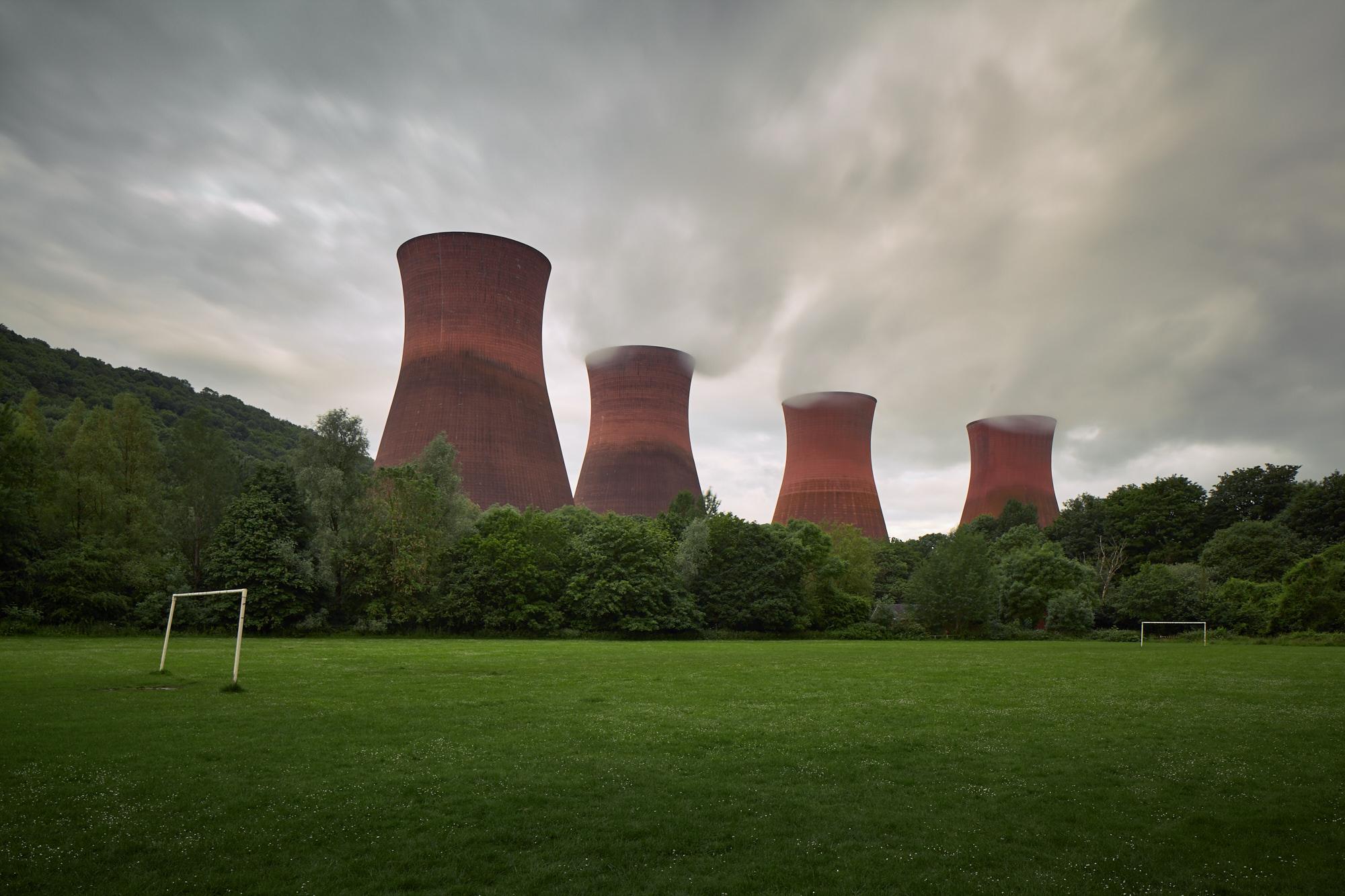 Ironbridge Power Station, Shropshire, England