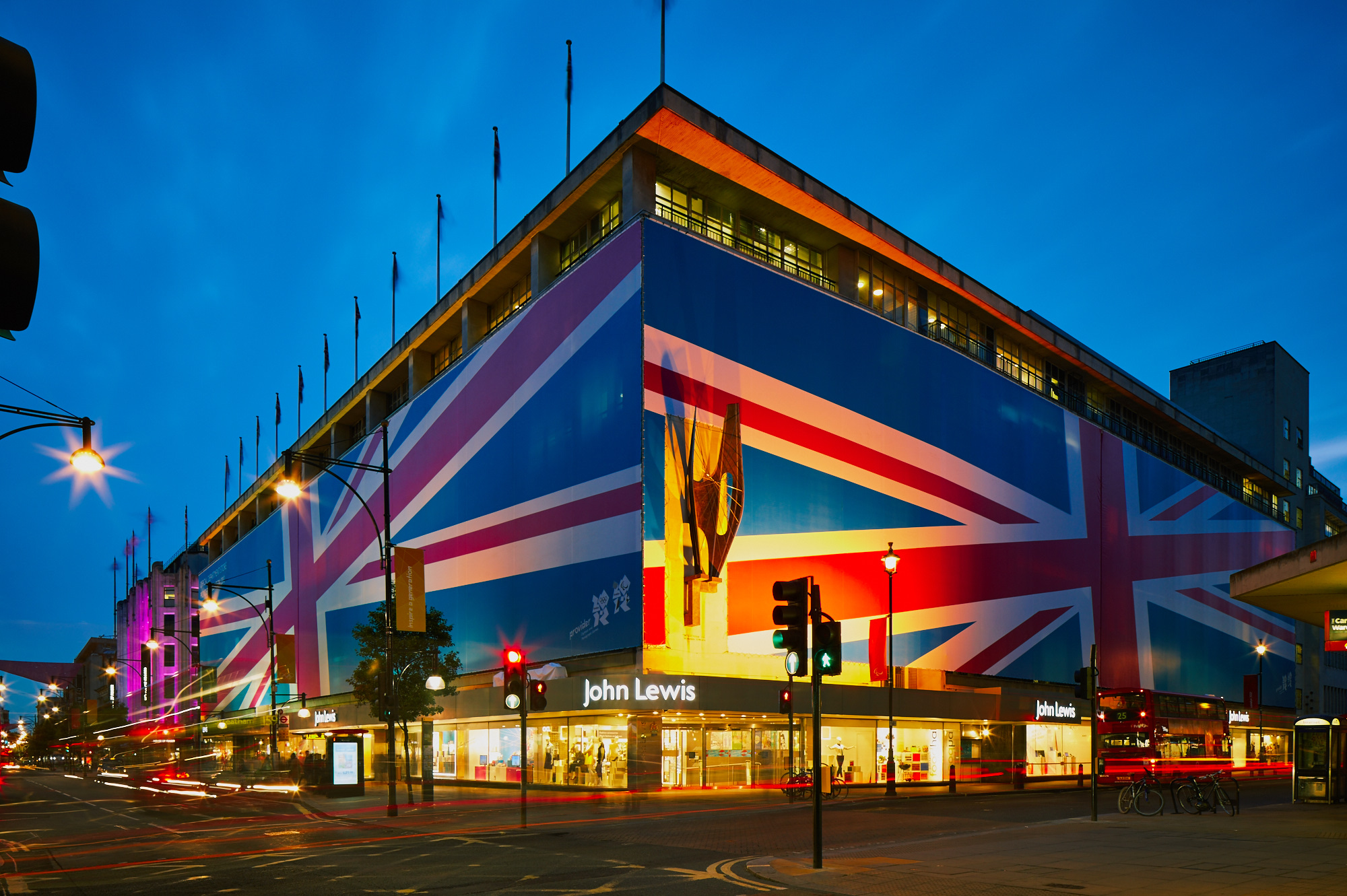 John Lewis, Oxford street, 2012, London