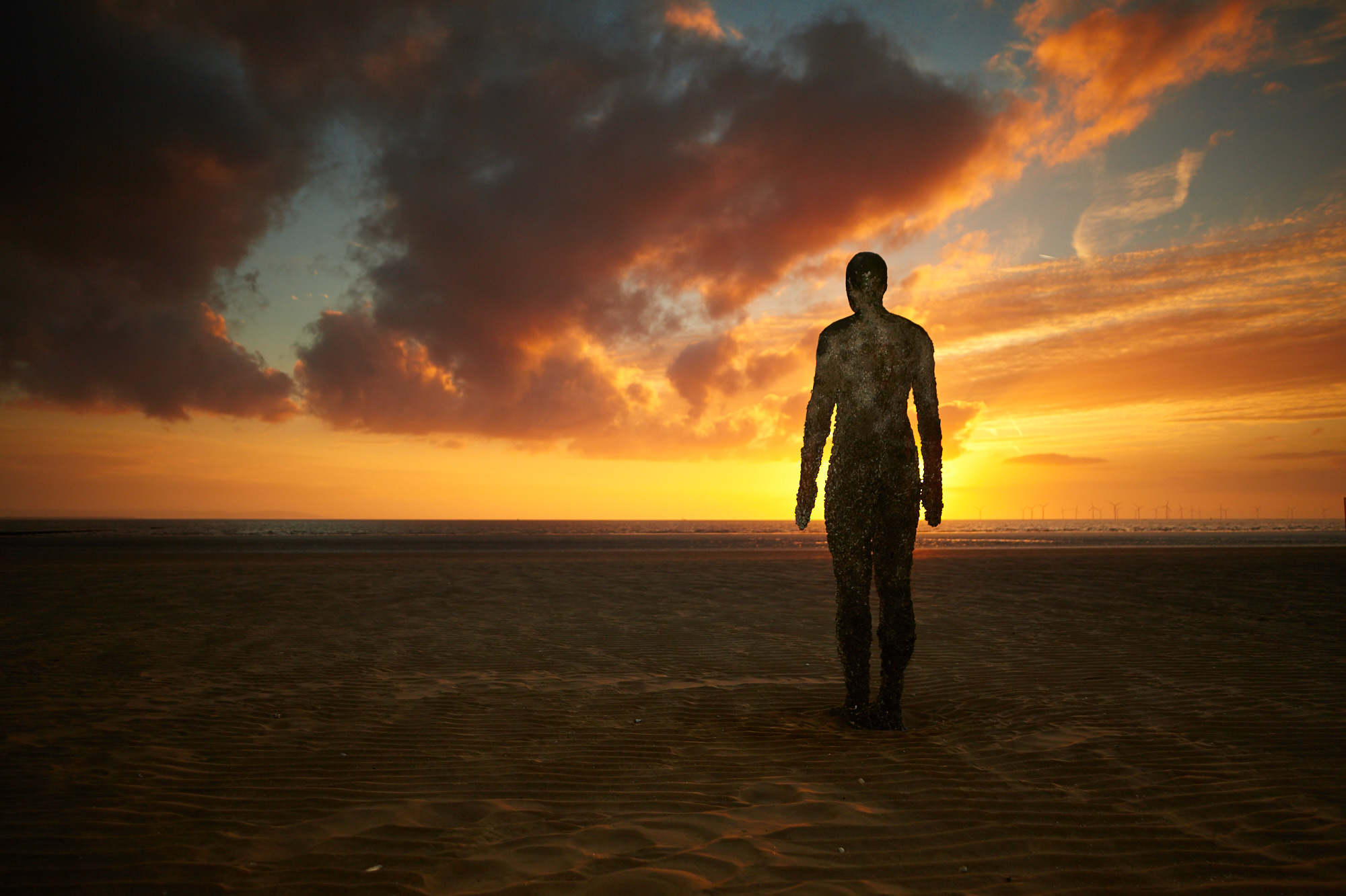 Anthony Gormley – Another Place