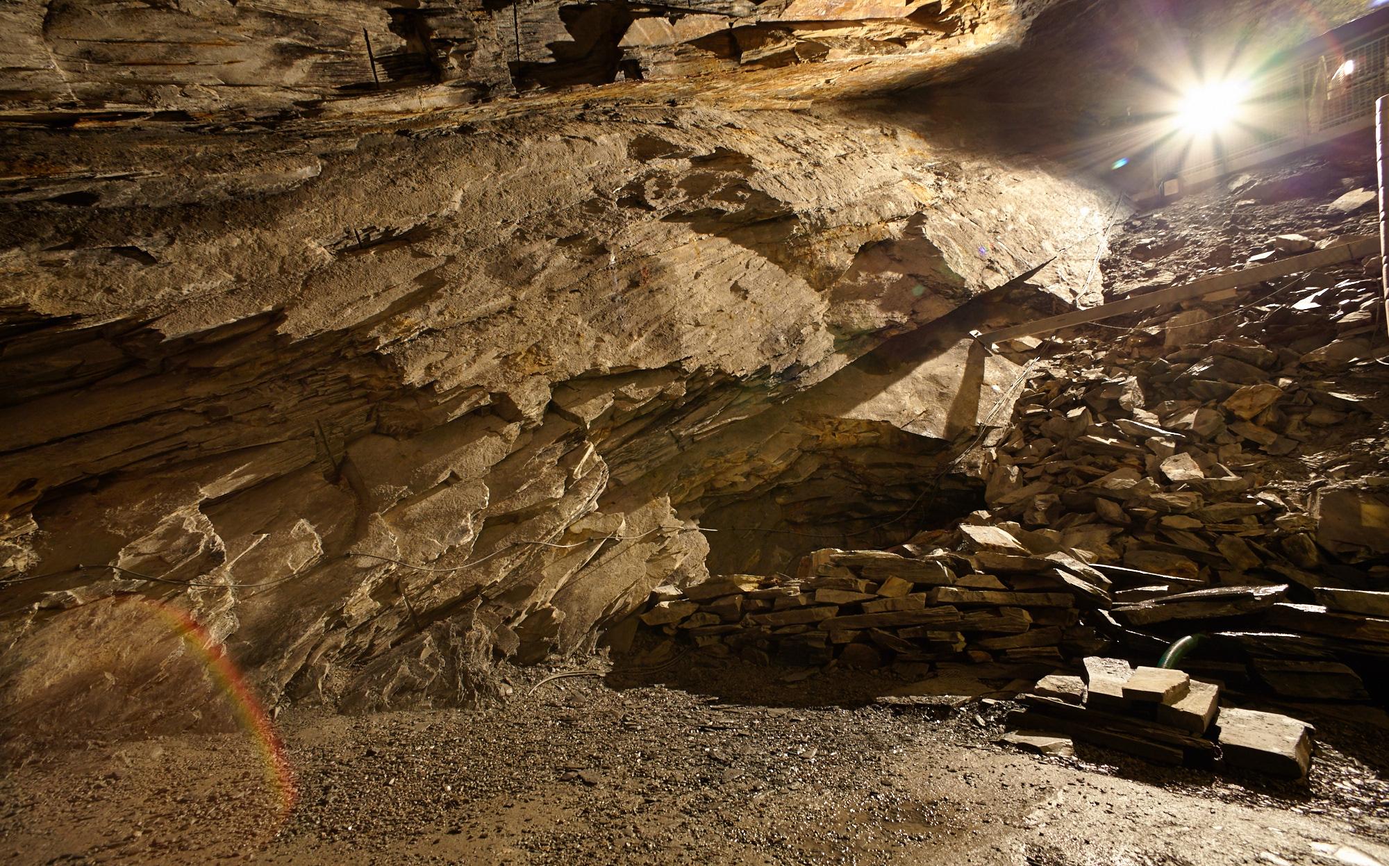 Llechwedd Slate Caverns I., Blaenau Ffestiniog, Wales