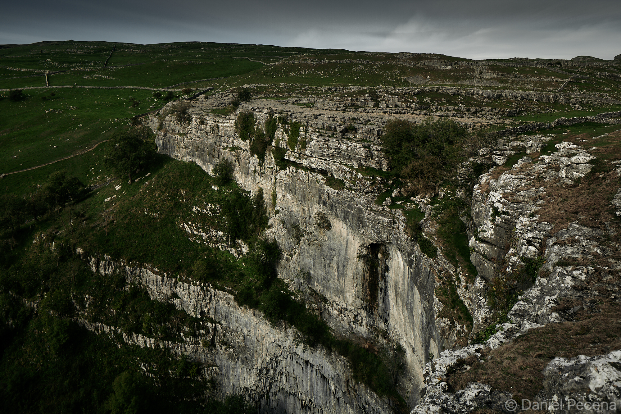 Malham cove by moonlight (Autumn 2018)