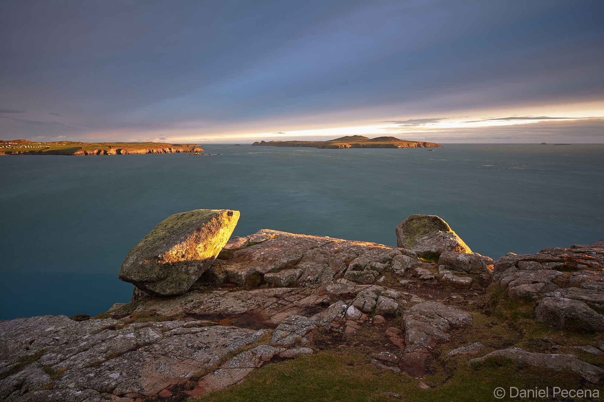 St David's head (Wales) - view towards Ramsey Island