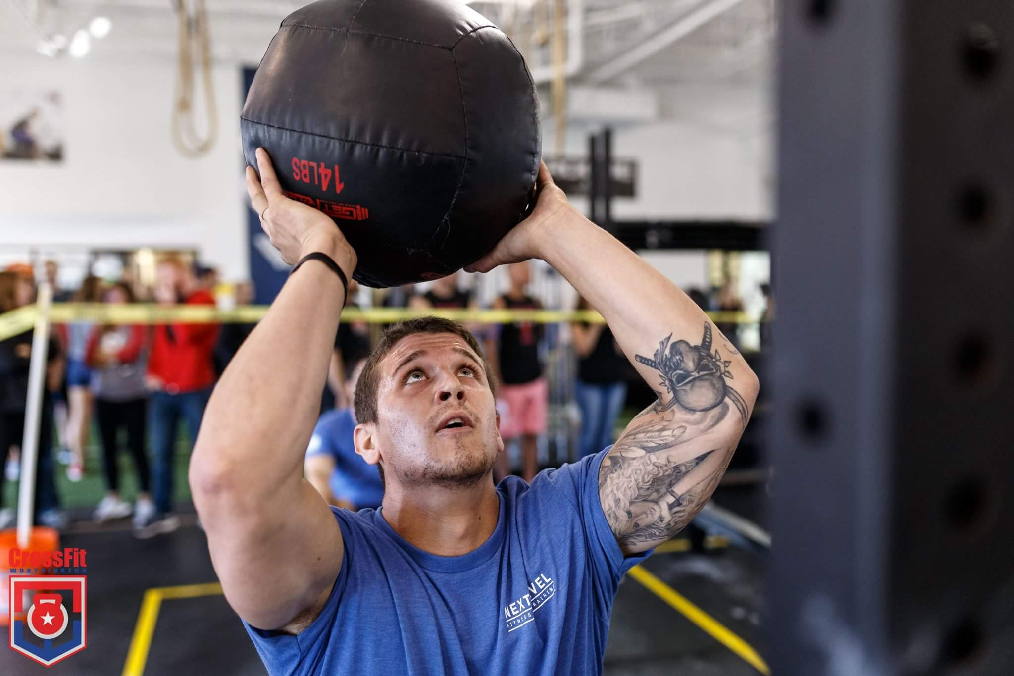 Member: Chris    Competing and placing at the annual Festius CrossFit Games.