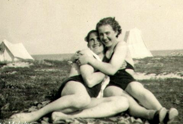 Grete with her husband