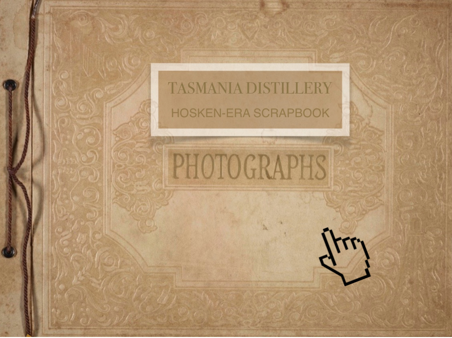 Click on this mock-up album of photographs to see the documents and images informing the Hosken story.