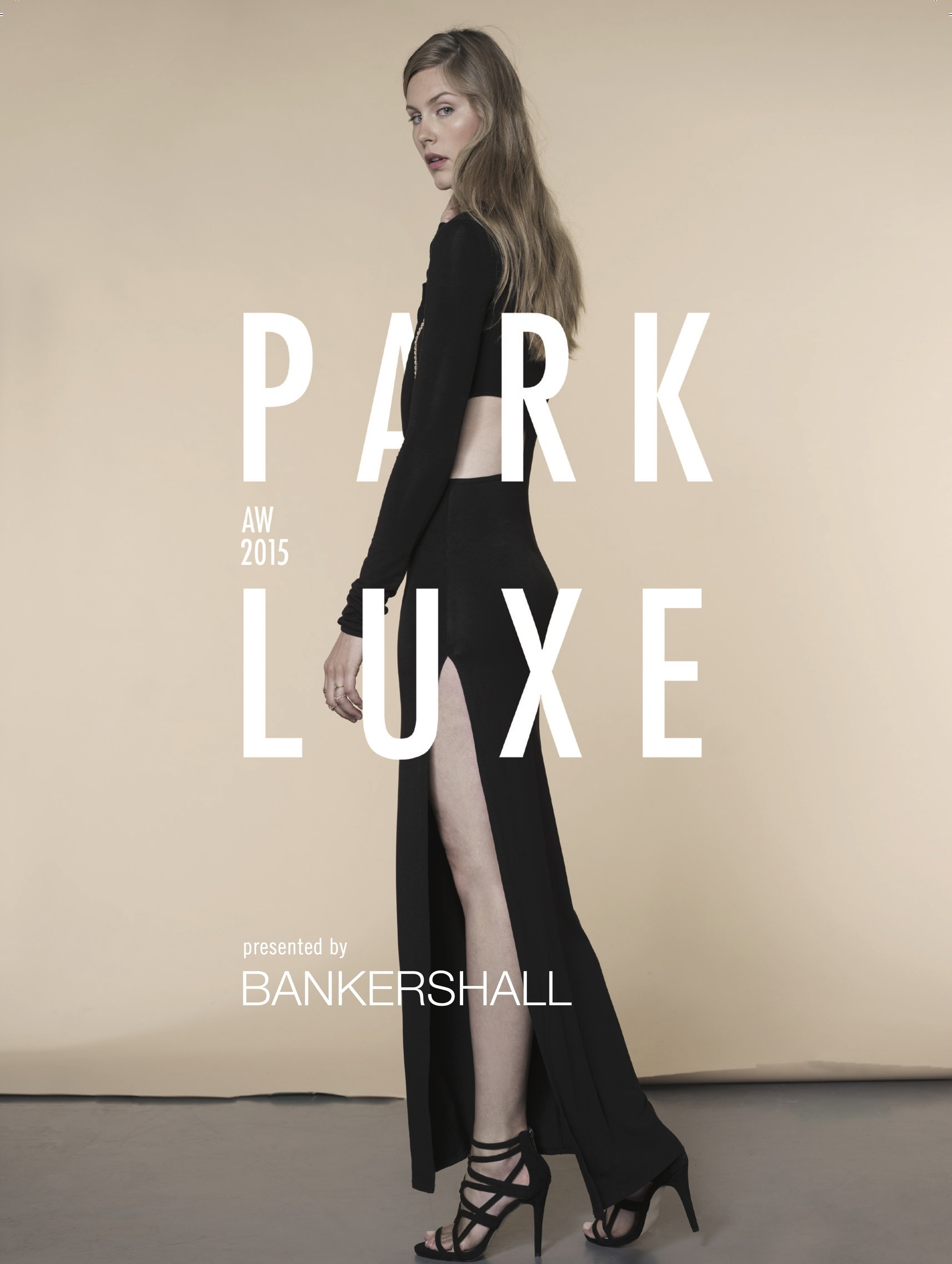 - The first campaign I was in charge of was PARKLUXE 2015. It was interesting because they'll give me a mood board, but other than that I had a lot of room to do what I want -- it was like a blank sheet of paper, which is always scary as an artist. With a piece that you're working on, you have a love/hate relationship with a campaign where in the beginning it's super exciting, and you have to try to maintain that excitement even when you get to the end and you're sorting out the little details.