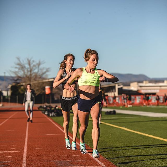 Time to lace up some new spikes & race.  @lifarber92 & @elleruns_4_her_life are toeing the line tomorrow in NY & Boston, each racing a mile.   Lianne races the Mile at the Dr. Sander Invitational at the @armorynyc at 12:18PM EST.   Elle makes her pro debut for New Balance Boston/ @newbalance in the Mile at the @nbindoorgp at 5:45 PM EST.   Both have just come back from a month at altitude in Flagstaff and we can't wait to see them get indoor going tomorrow.  📷: @justinbritton  #teamnb #CoogsCrew