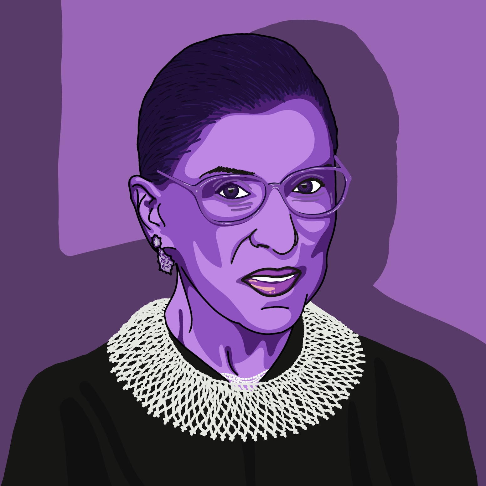 Ruth Bader Ginsberg⁣ ⁣ RBG is the second woman to have been appointed to the Supreme Court, and has served since 1993. Throughout her career, she's fought tirelessly and courageously to stand up for the rights of women, the LGBTQ community and many other marginalised groups.   She's famously won cases to improve women's access to reproductive healthcare, pregnancy, and equal pay, as well playing a huge part in the successful ruling to allow same-sex marriage in all 50 states in the US in 2015. ⁣ ⁣ She's such an impressive woman, who's spent her life fighting for equal rights, which is pretty much as inspirational as it gets.⁣