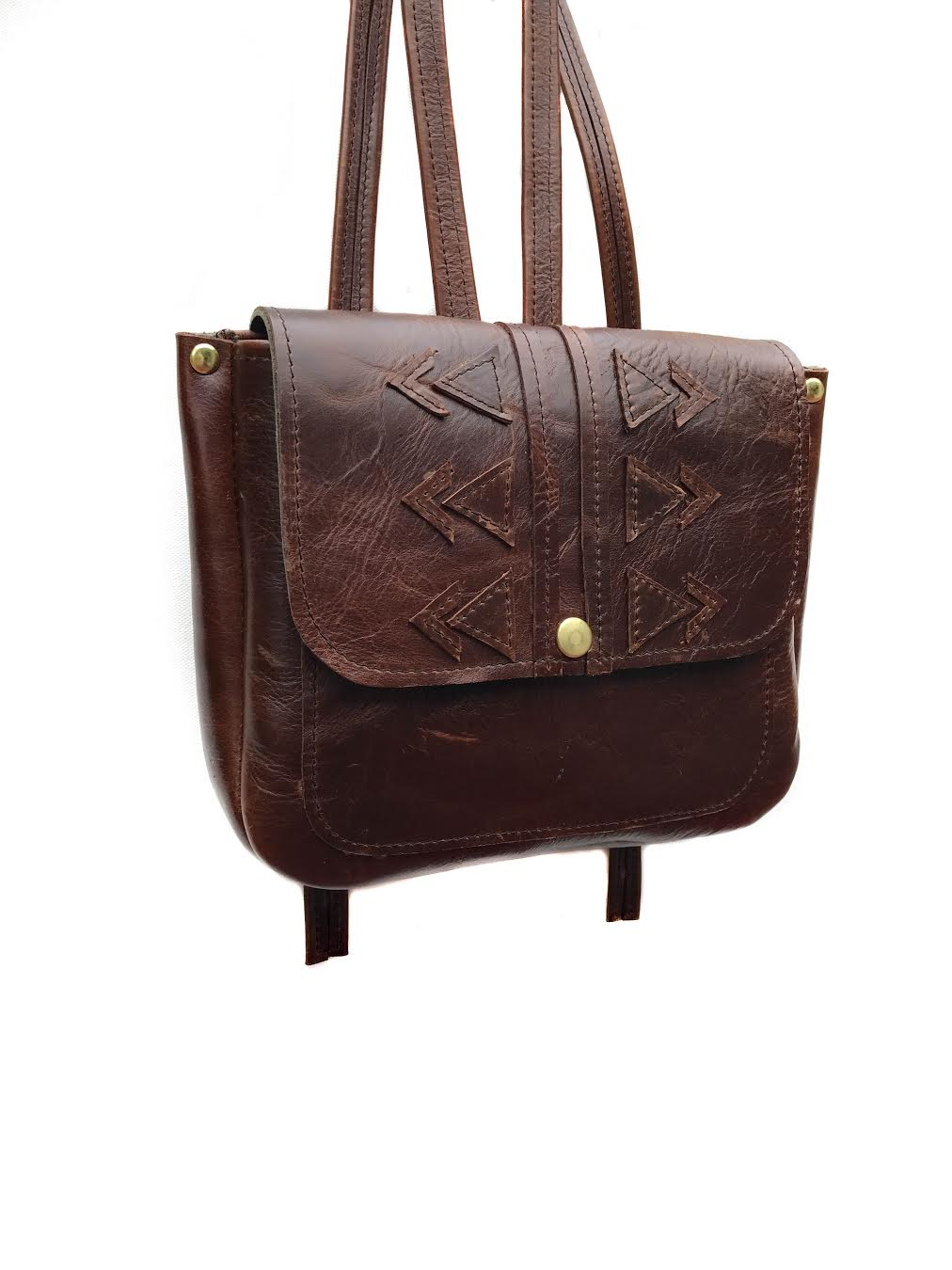 On the Road Backpack in Tobacco Brown  *sold