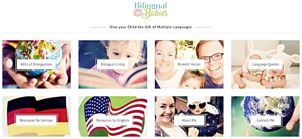 Veronika Laughlin's new blog,  Bilingual Babies