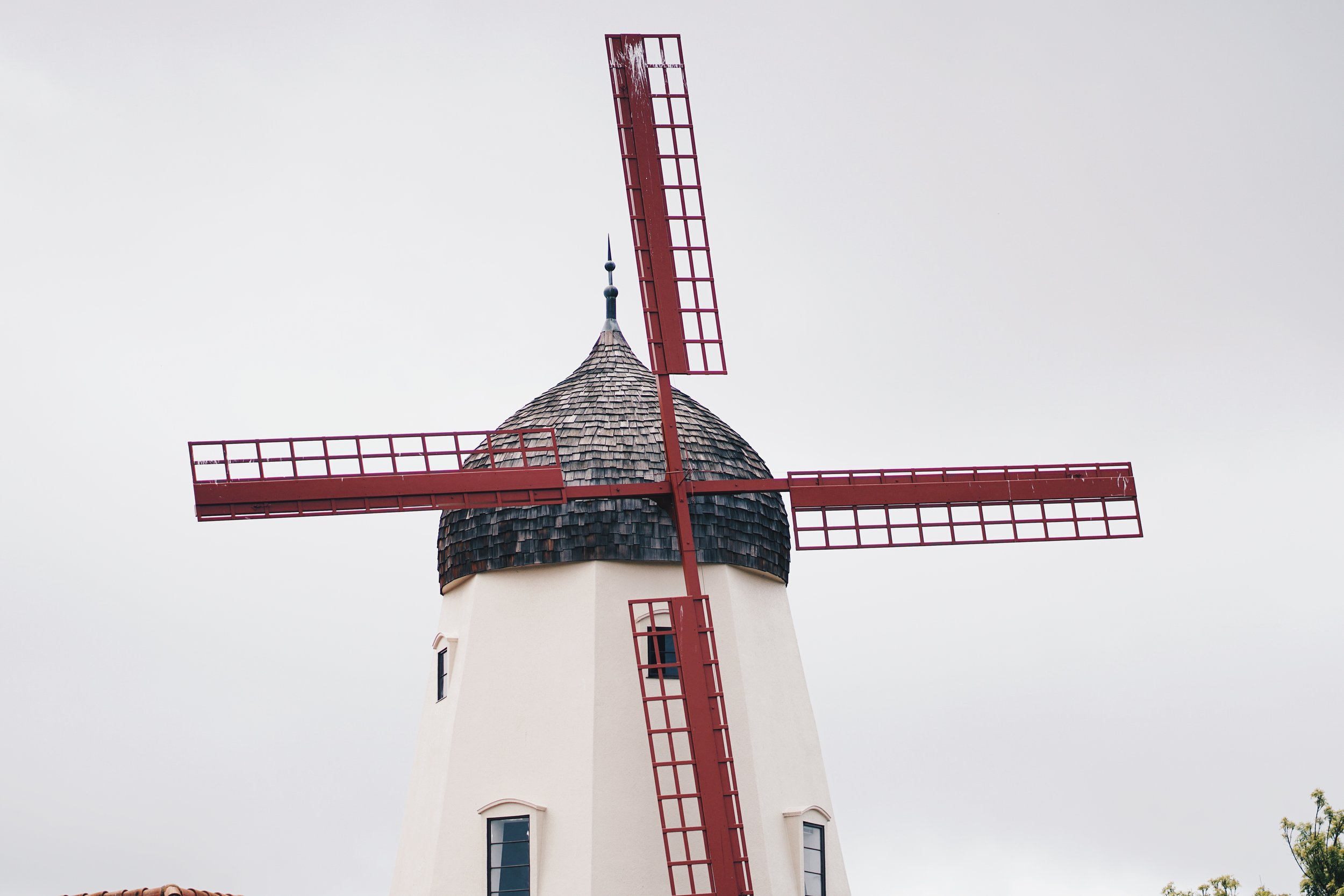 Windmills are plentiful in Solvang.