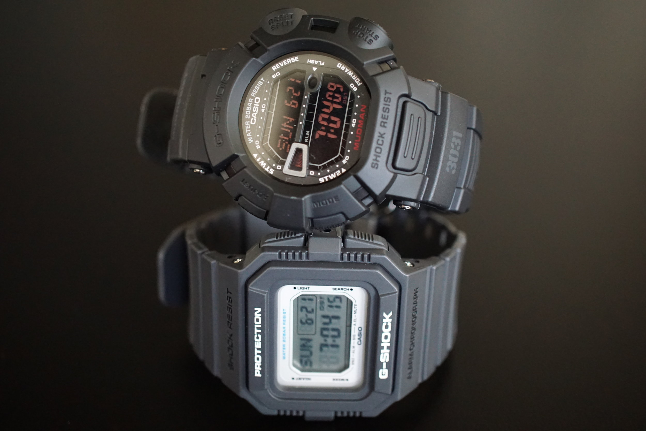 Casio G-Shock DW5500-1 and G9000MS-1