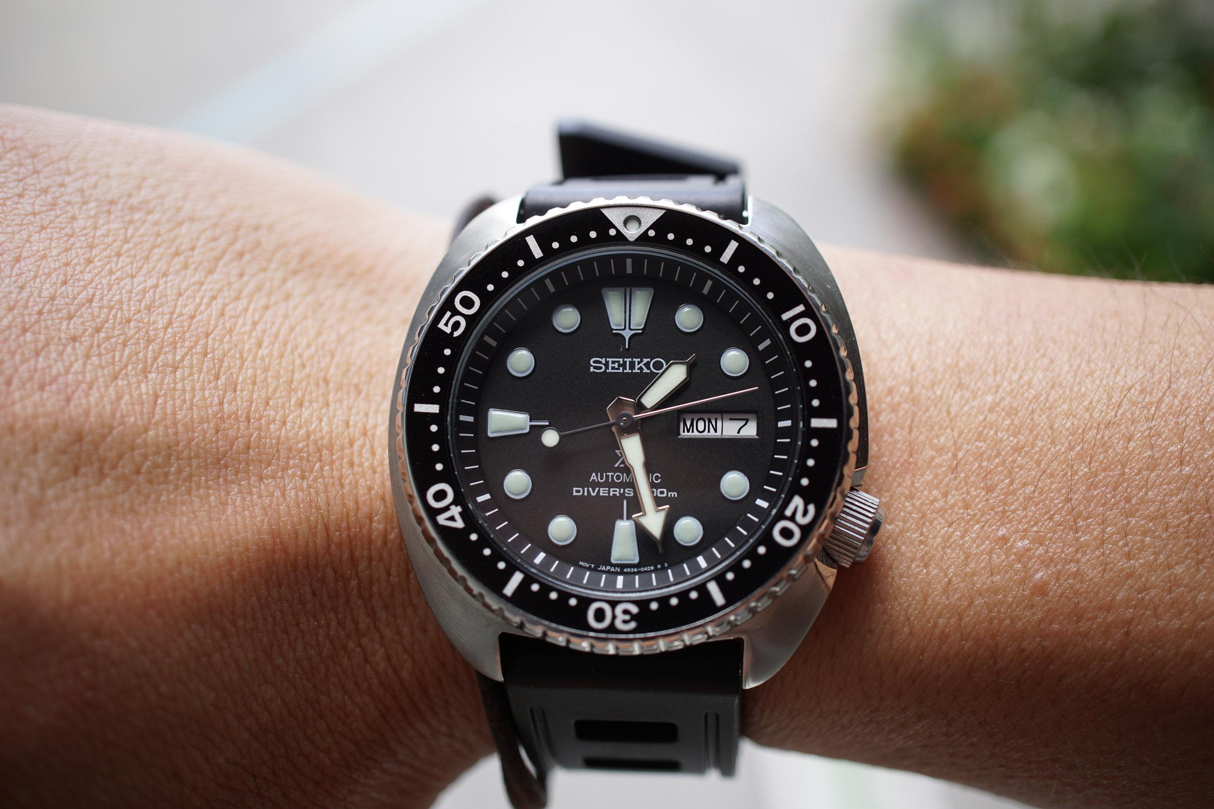 Seiko Prospex 200m Diver ref SRP777