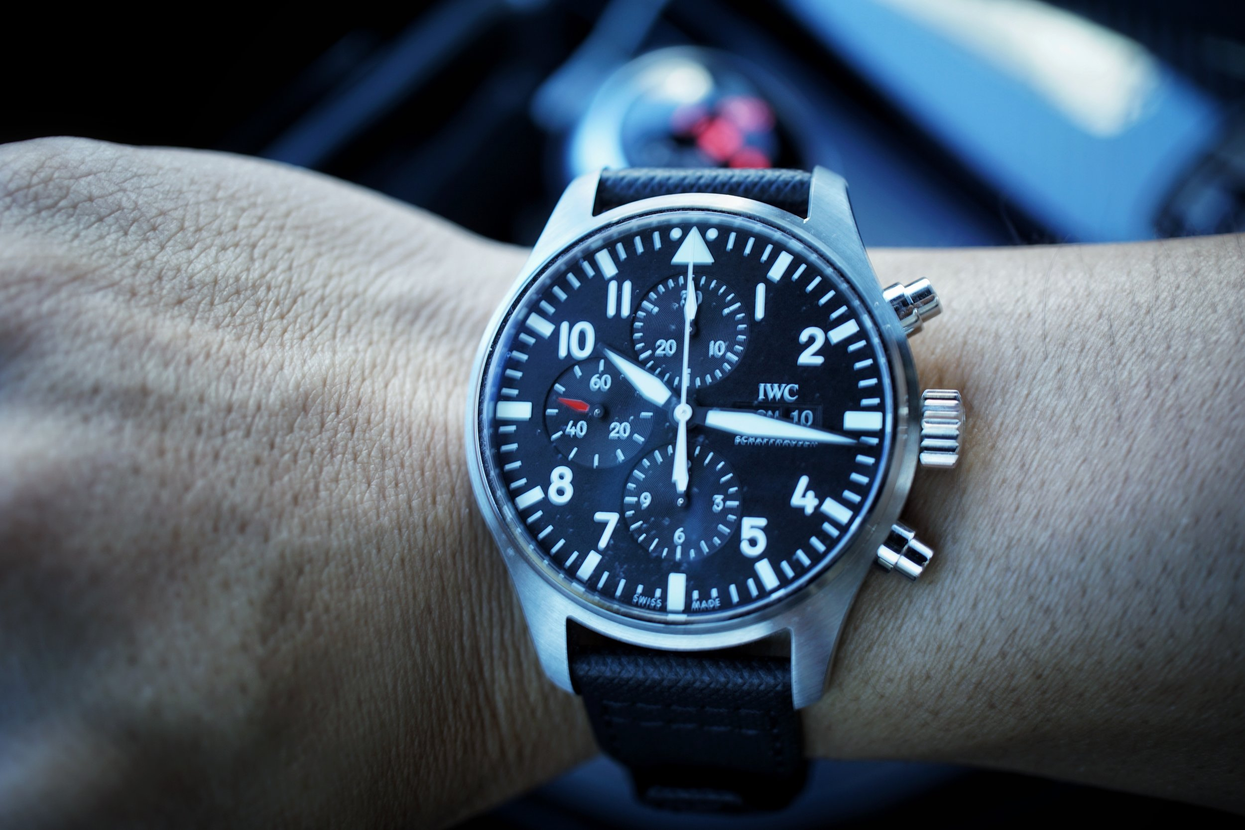 IWC Pilot's Watch Chronograph ref 3777-09