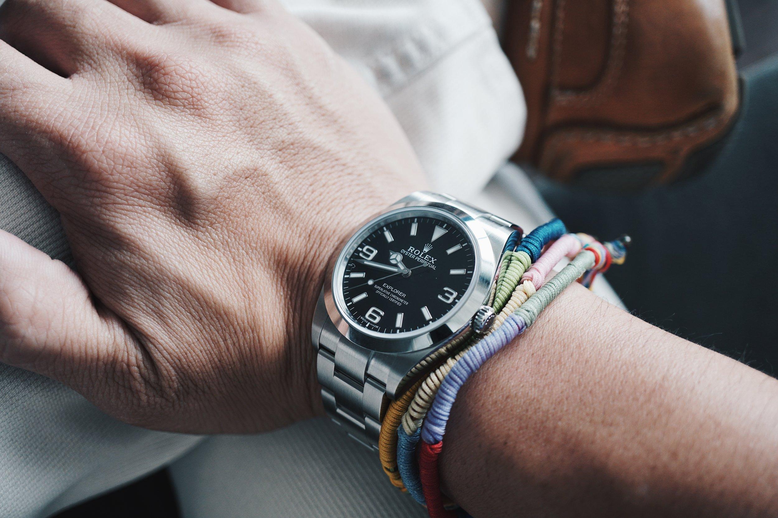 Rolex Explorer ref 214270