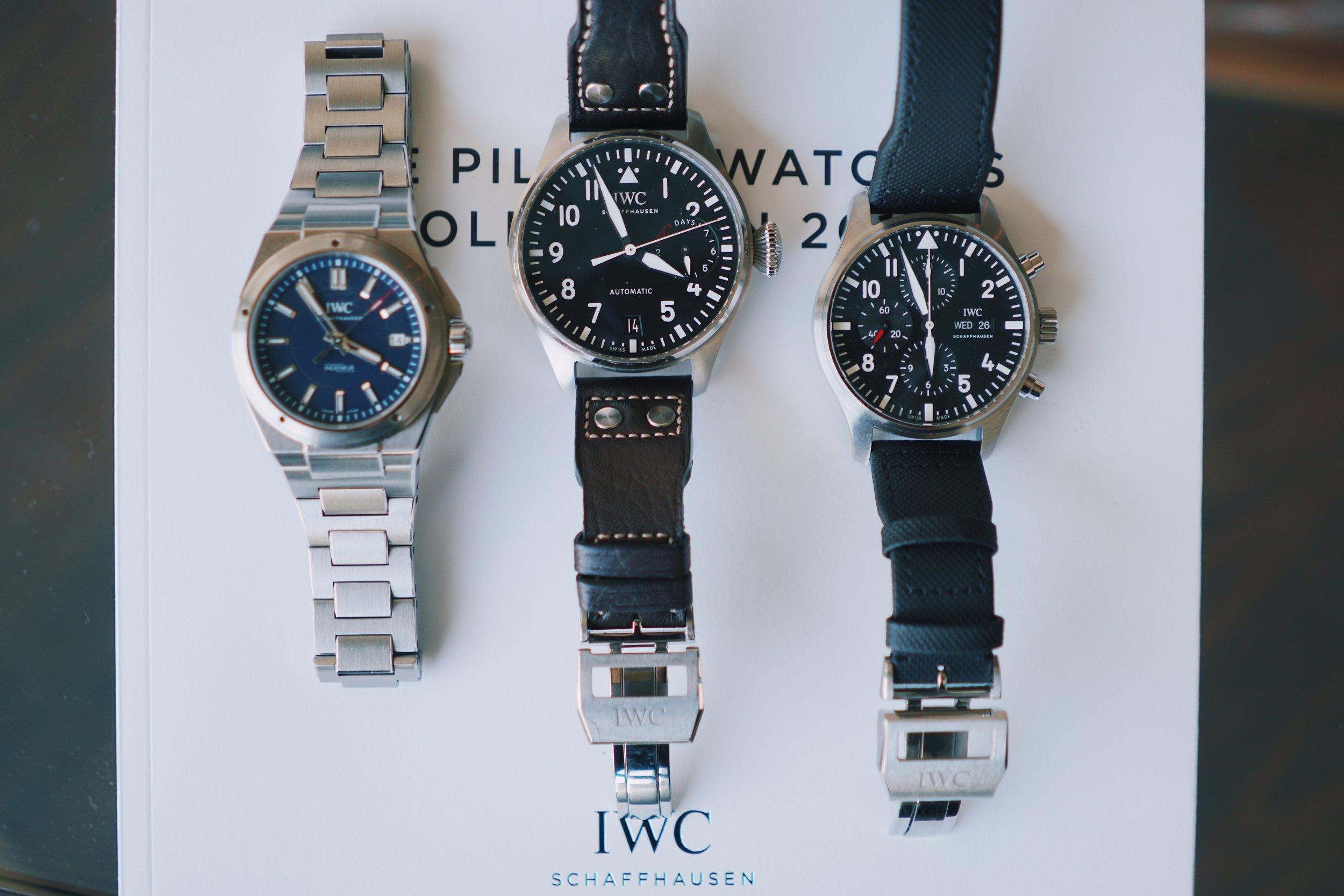 My IWC Trifecta.